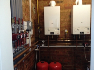 IT Plumbing and Heating for heating and ventilation